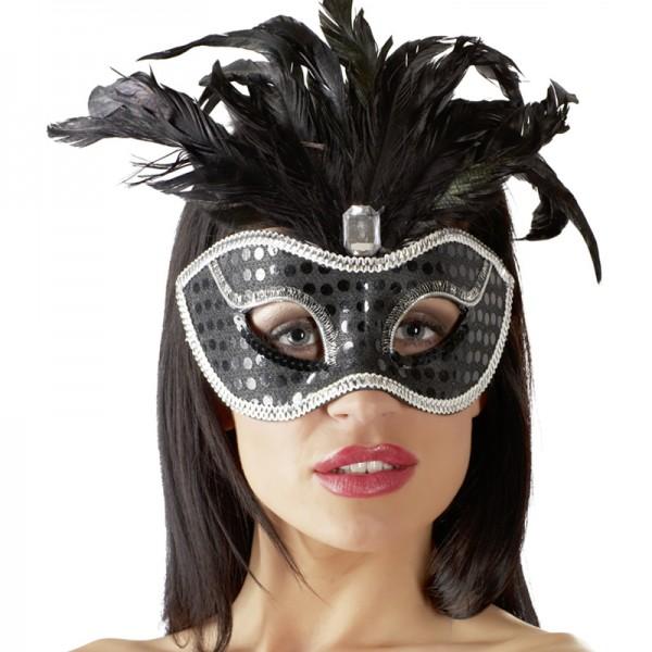Maske mit Federn Edition 3