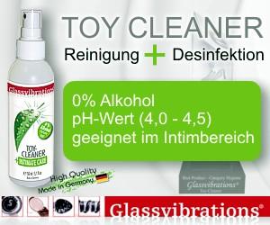 Toy Cleaner - reinigt und desinfiziert - von glassvibrations.de