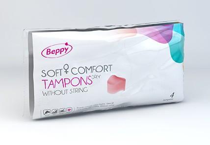 Beppy Soft-Comfort-Tampons 4er dry