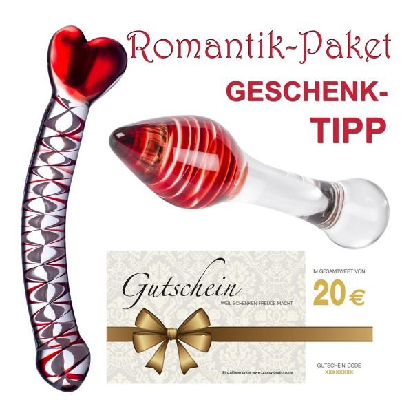 ROMANTIK-Paket, incl. 20,- € Gutschein