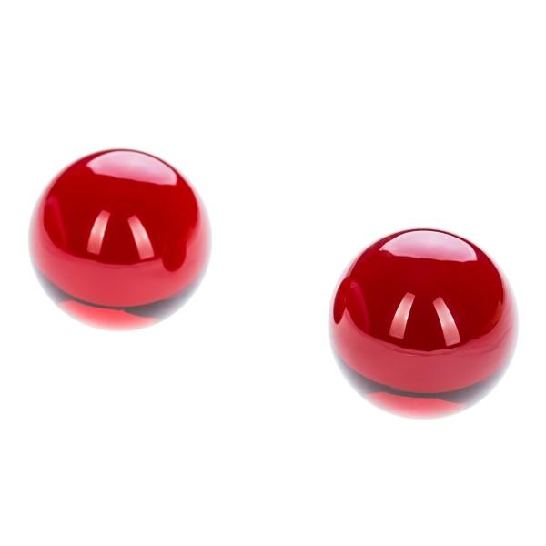 Liebeskugeln cherry red
