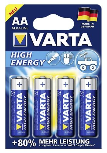 VARTA Batterien AA Mignon 1,5V